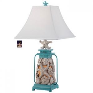 Seashell Lantern Table Lamp
