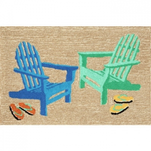Adirondack Seaside Indoor Outdoor Rug