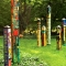 "Nature's Healing 40"" Art Pole"