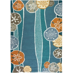 Beachcomber Indoor Outdoor Area Rug, 8 x 10 ft.