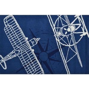 Outline Plane Navy Indoor / Outdoor Rug