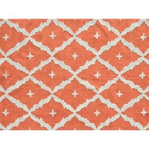 Tangier Orange Indoor / Outdoor Rug
