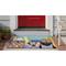 """Liora Manne Frontporch Beach Patrol Indoor/Outdoor Rug Multi 24""""X36"""""""