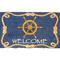 Ship'S Wheel  Coco Doormat