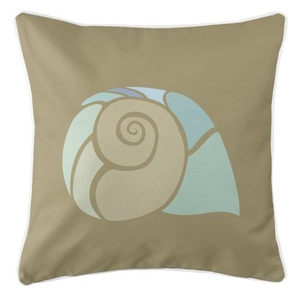 Andros - Nautilus Shell Pillow