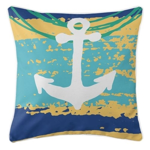 Bimini - Anchor Pillow