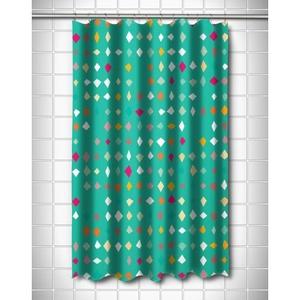 Diamonds Confetti Shower Curtain