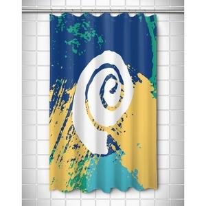 Bimini Shell Shower Curtain