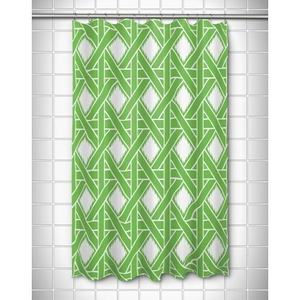 Key Largo - Passport Green Shower Curtain