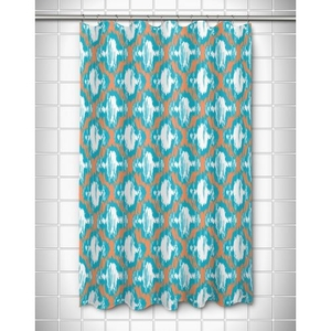 Boca Chica - Moroccan Shower Curtain