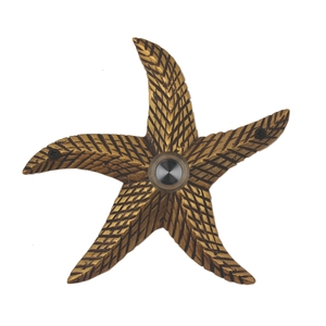 Starfish Brass Doorbell