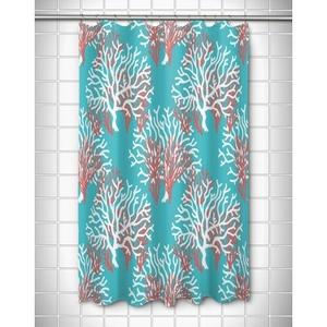 Nassau - Coral Beach Shower Curtain