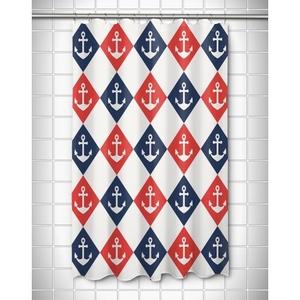 Captains Key - Anchor Shower Curtain