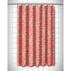 Hipster Coral Shower Curtain