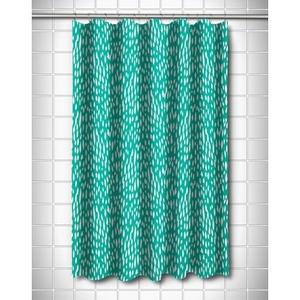Hipster Aqua Shower Curtain