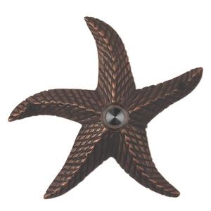 Starfish Oil Rubbed Bronze Doorbell