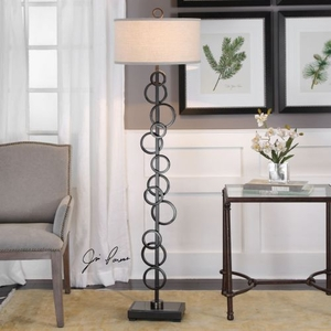 Anillo Floating Rings Floor Lamp