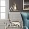 Amitola Coiled Nickel Lamp