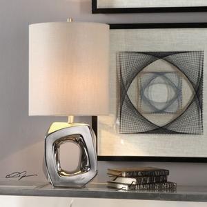Allira Modern Chrome Lamp