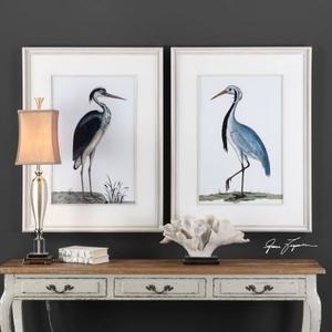 Shore Birds Framed Prints S/2