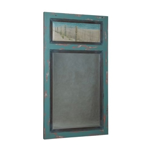Waterfront Vincent Mirror, Sea Plant, Waterfront Grey