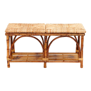 Rattan Bed Bench
