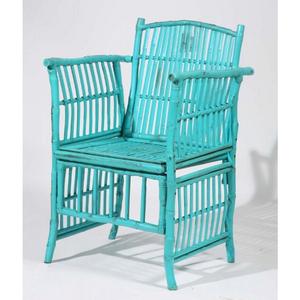 Coastal Bamboo Side Chair