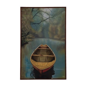 River Boat Wall Decor, Original Art