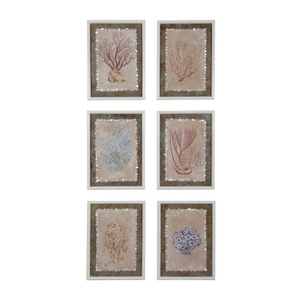 Coral Studies Wall Decor, Original Art
