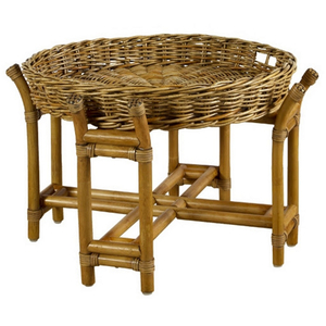 Woven Java Tray Table