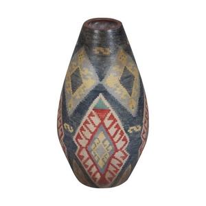 Terra Cotta Oval Vase, Original Art