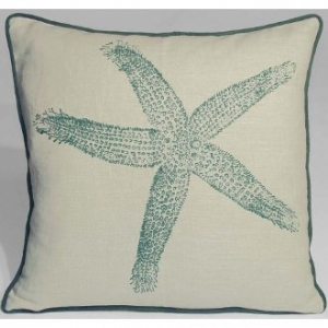 Kevin O'Brien Starfish Linen Pillow