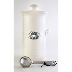 Crab Coffee Canister