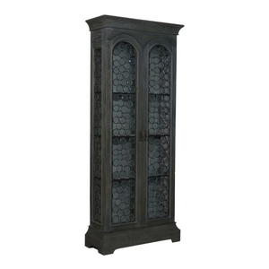Winston Cottage Cabinet, Gray