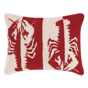 Double Colorway Lobsters Hook Pillow