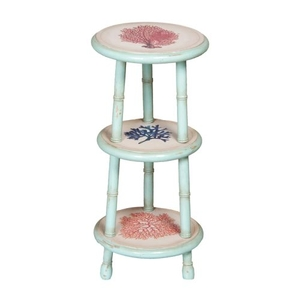Coral Accent Table, Green