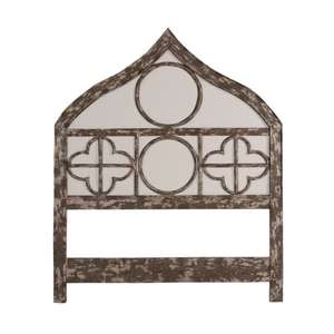 Gothic King Headboard, Gray