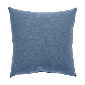 Heritage Blue Solid Indoor / Outdoor Throw Pillow 18 inch