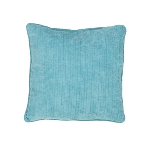 Surfside Turquoise Solid Indoor / Outdoor Throw Pillow 20 inch