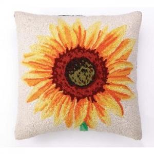 Sunflower Hook Pillow