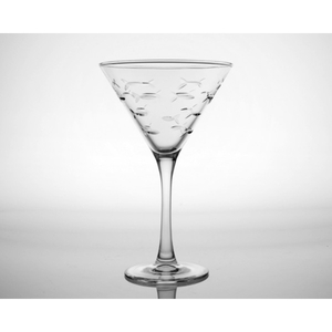 School of Fish Martini (10oz) Set of 4