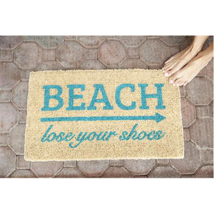 Lose Your Shoes Door Mat