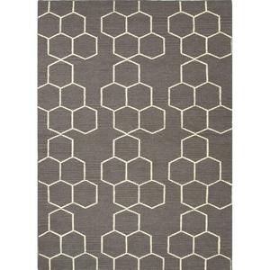 Abdel Handmade Trellis Area Rug (5'  x  8')