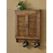 Distressed Wood Shutter Wall Cabinet