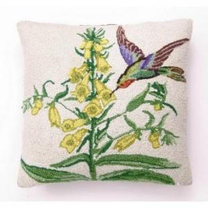 Hummingbird Hook Pillow