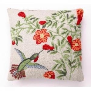 Hummingbird Ii Hook Pillow