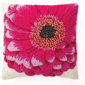 Pink Gerbera Hook Pillow