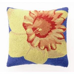 Yellow Daffodil Hook Pillow