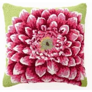 Pink Dalia Hook Pillow