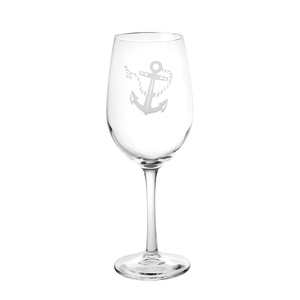 Rope Anchor White Wine Glasses (Set Of 4)
